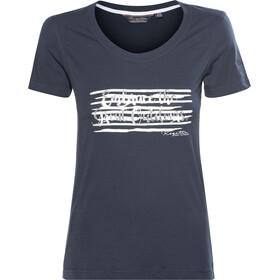 Regatta Filandra II - T-shirt manches courtes Femme - bleu argent 75a3b8ffb8bf